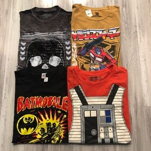 Other - ✅Just in - Set of 4 Men's Character Tees